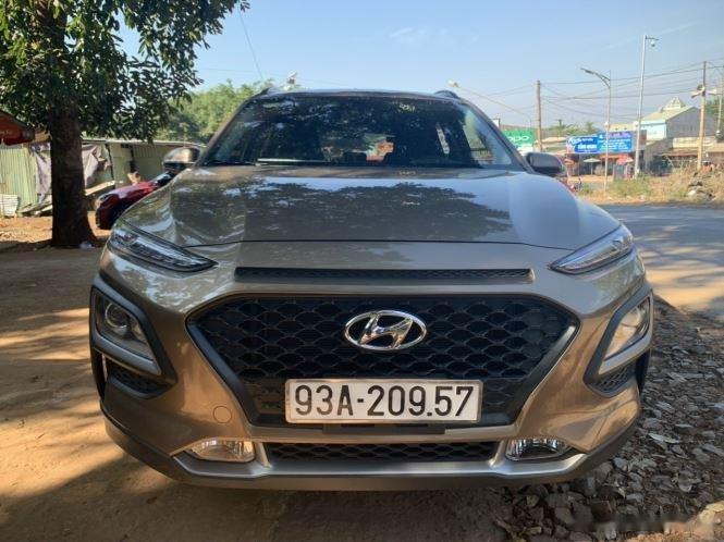 Bán xe Hyundai Kona đời 2020, màu nâu chính chủ (1)