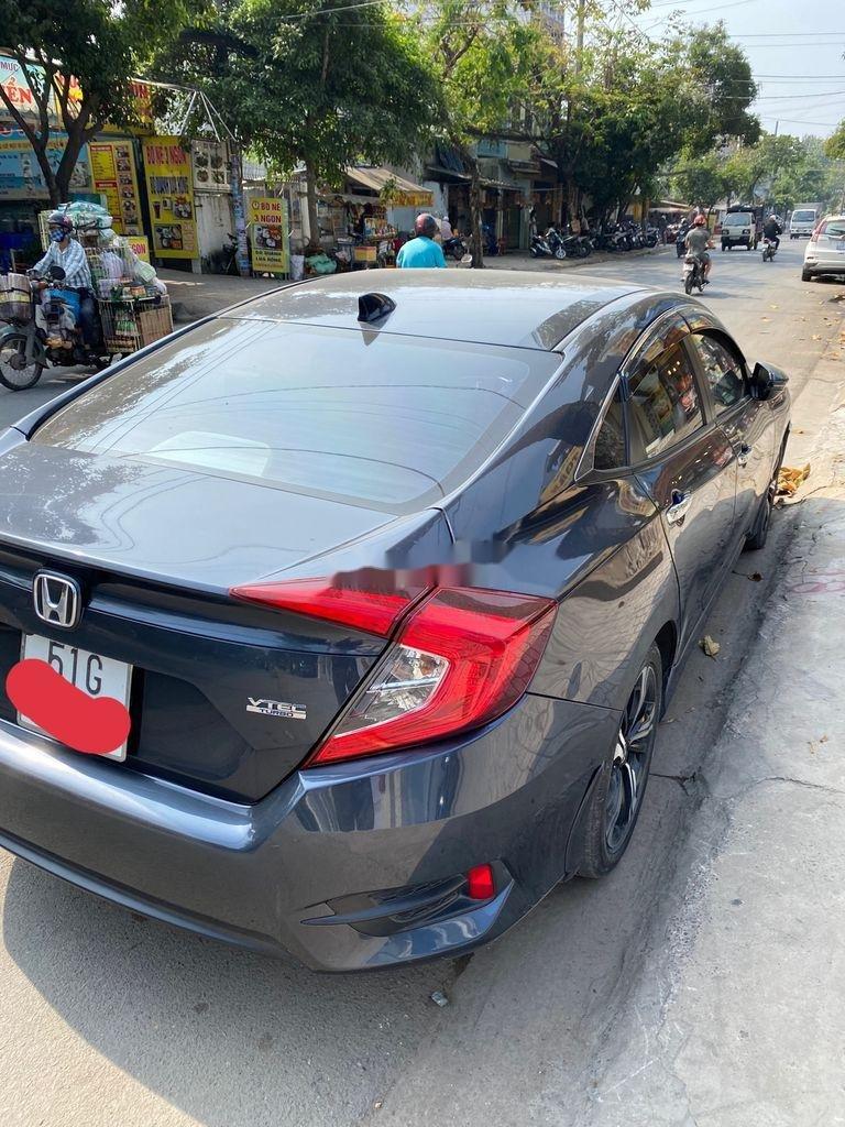 Bán Honda Civic đời 2017, màu xanh lam, nhập khẩu  (5)