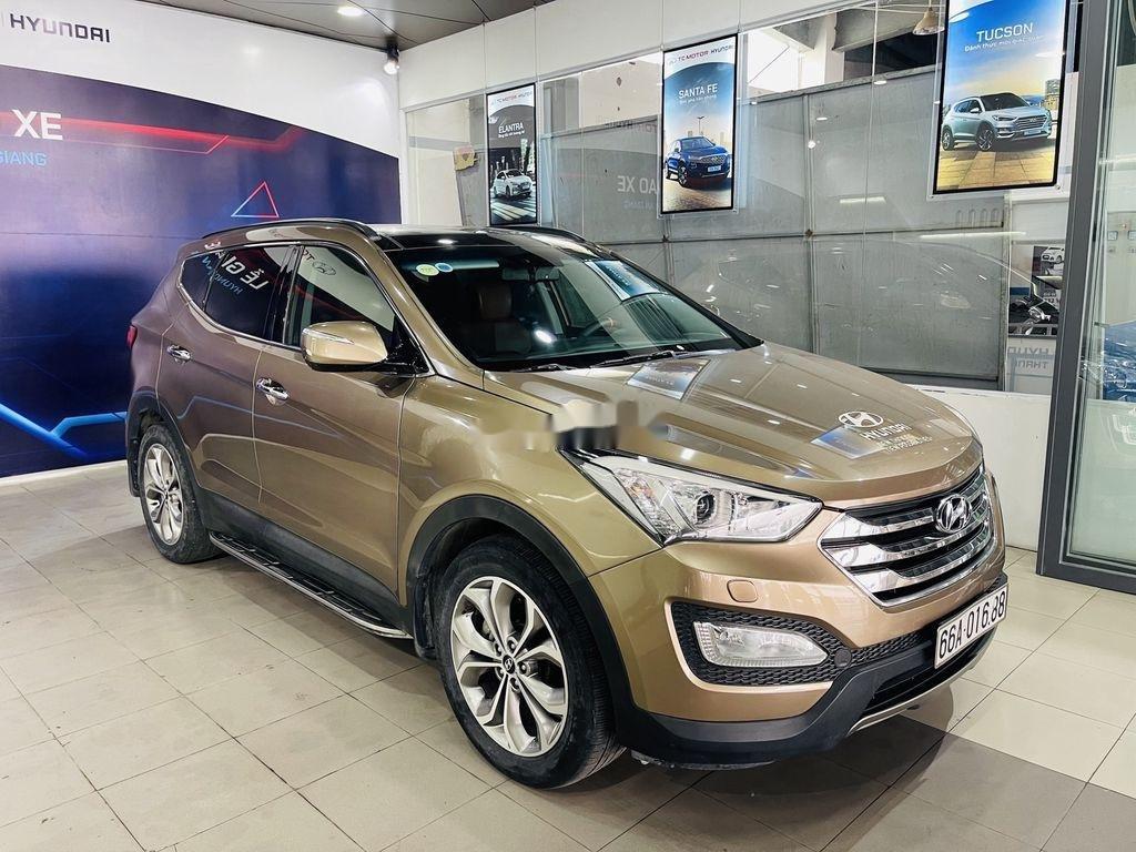 Bán Hyundai Santa Fe năm sản xuất 2013, nhập khẩu còn mới giá cạnh tranh (2)