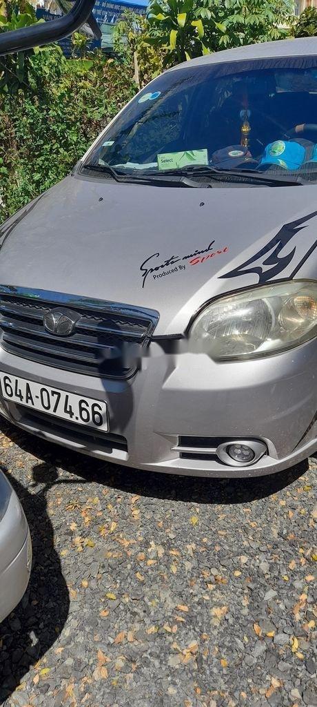 Xe Daewoo Gentra sản xuất năm 2009, màu bạc còn mới (1)