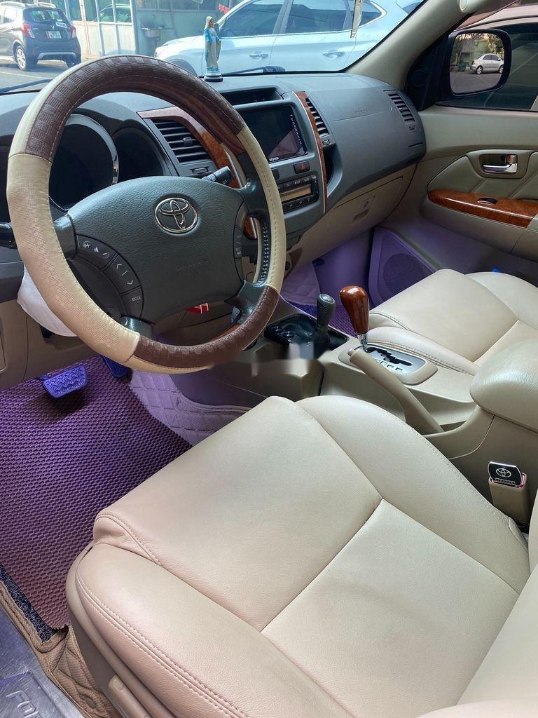Cần bán lại xe Toyota Fortuner 2.7V năm 2009, màu xám  (5)