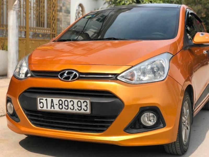 Cần bán lại xe Hyundai Grand i10 2015, nhập khẩu nguyên chiếc (1)
