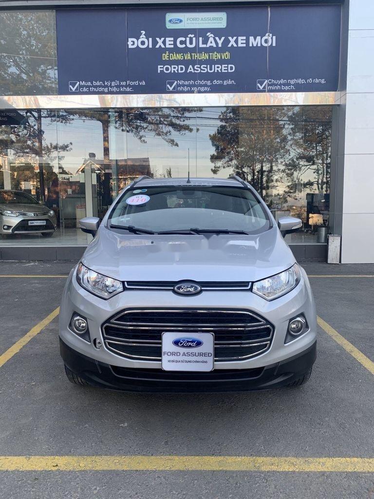 Bán xe Ford EcoSport năm 2017, màu bạc chính chủ (2)