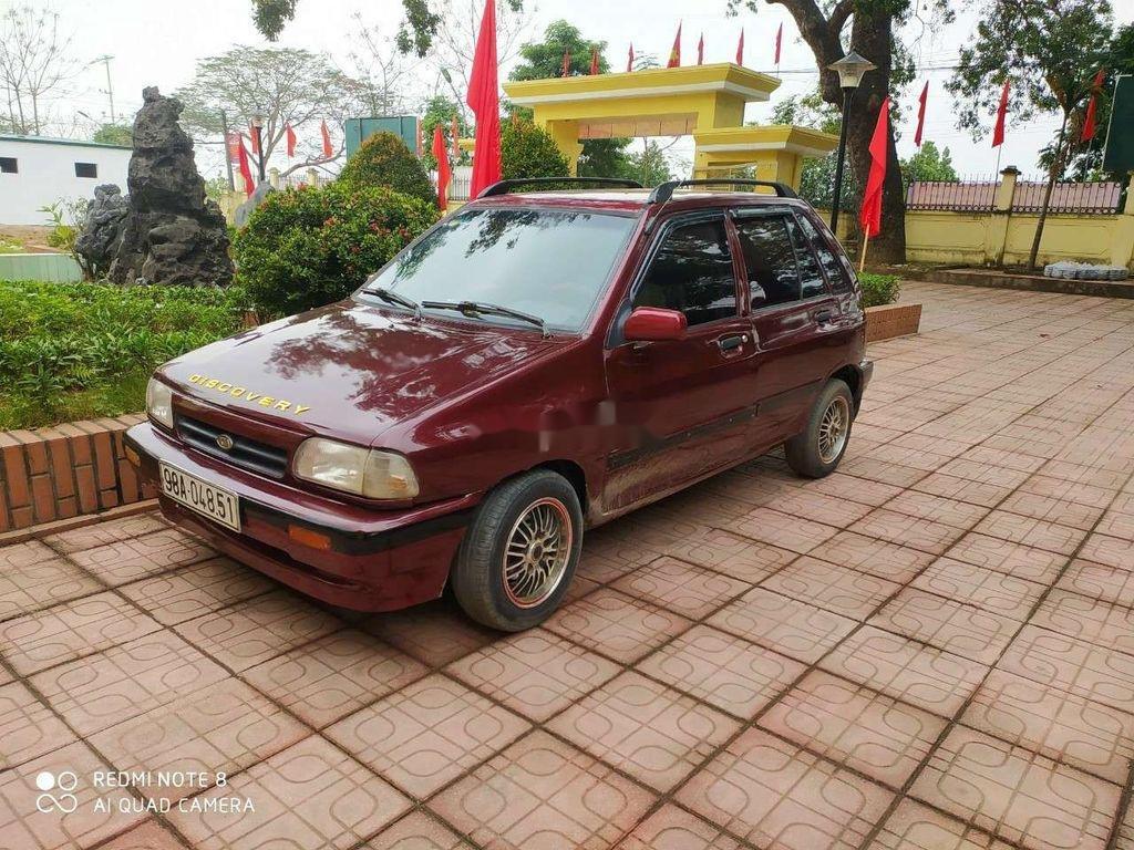 Cần bán lại xe Kia CD5 sản xuất 2000, màu đỏ chính chủ (3)