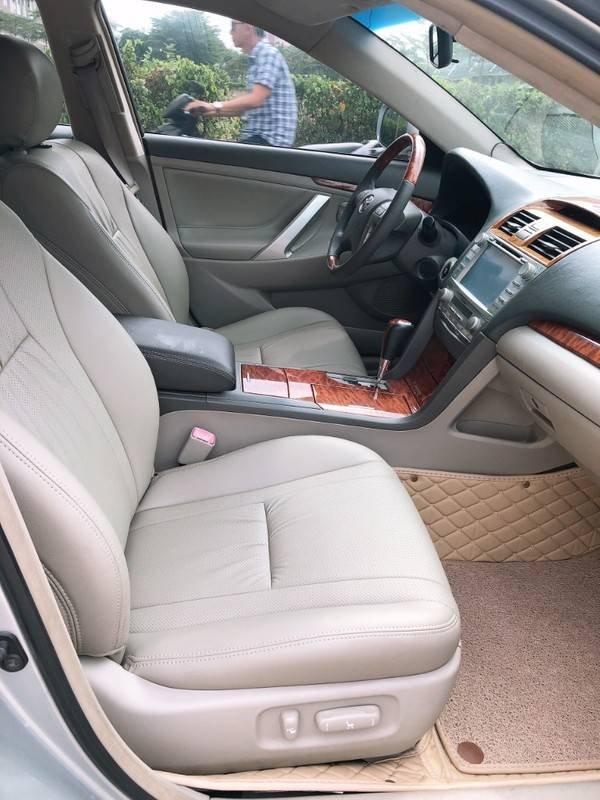 Cần bán Toyota Camry năm sản xuất 2008, màu bạc, nhập khẩu chính chủ, giá 488tr (8)