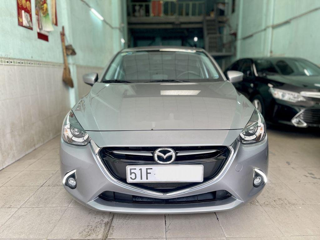 Bán Mazda 2 năm sản xuất 2016, màu xám chính chủ  (1)