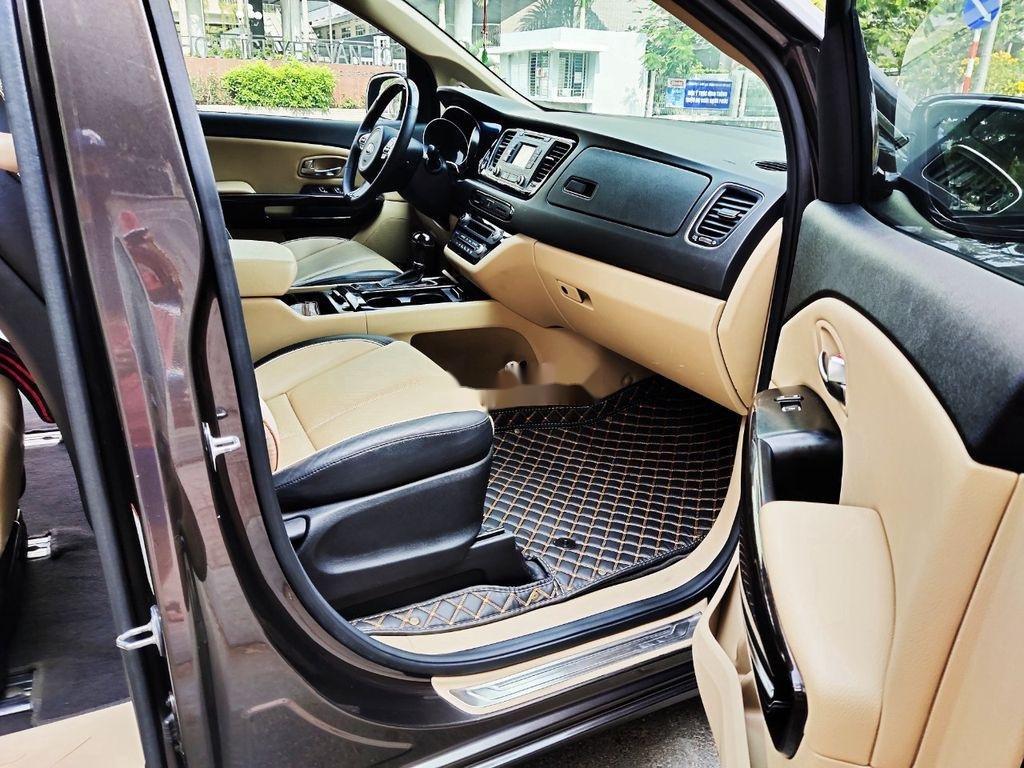 Bán xe Kia Sedona GATH năm sản xuất 2015, màu nâu, nhập khẩu  (5)