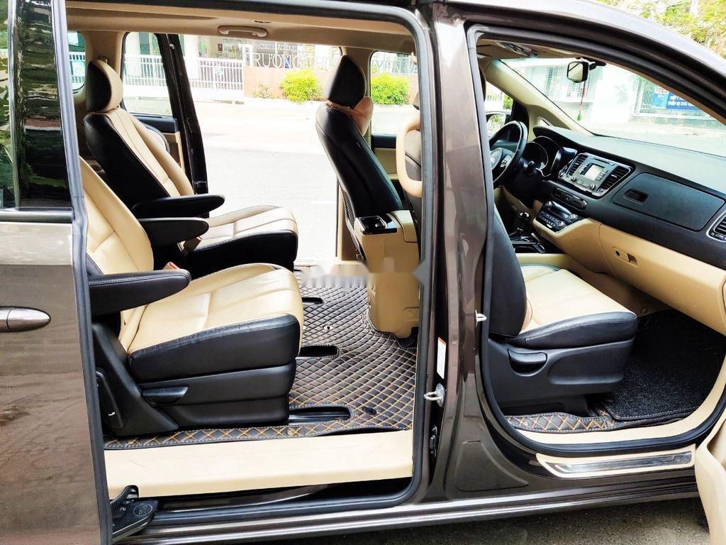 Bán xe Kia Sedona GATH năm sản xuất 2015, màu nâu, nhập khẩu  (7)