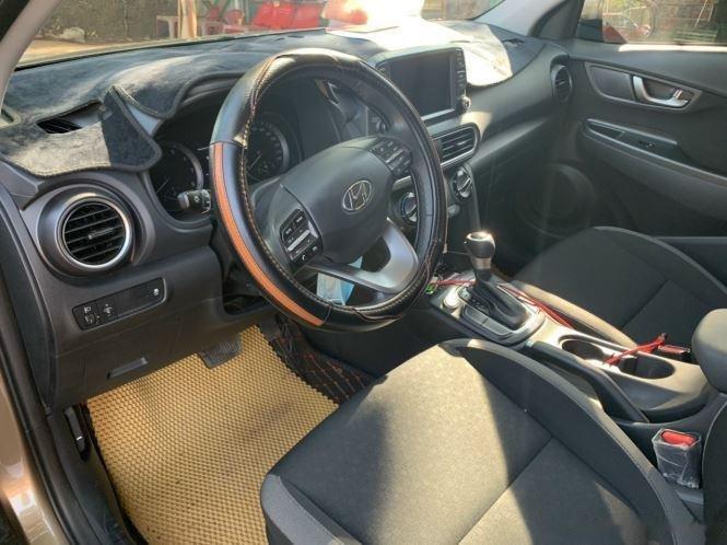 Bán xe Hyundai Kona đời 2020, màu nâu chính chủ (7)