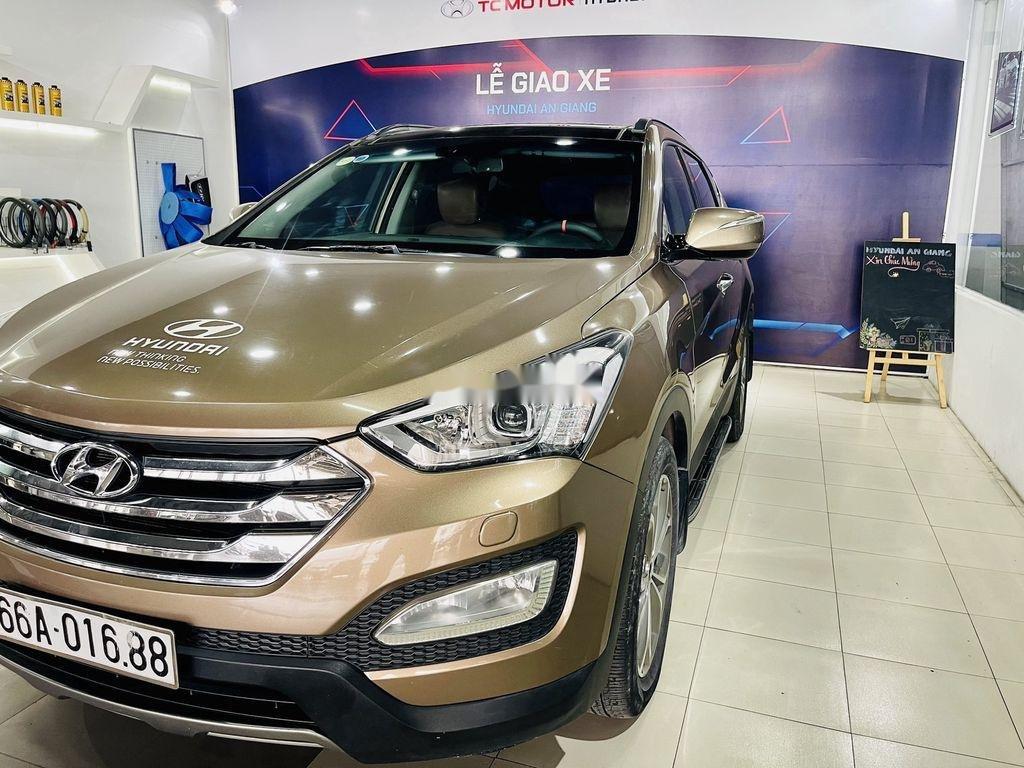 Bán Hyundai Santa Fe năm sản xuất 2013, nhập khẩu còn mới giá cạnh tranh (4)