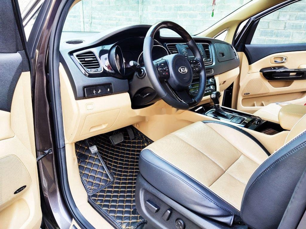 Bán xe Kia Sedona GATH năm sản xuất 2015, màu nâu, nhập khẩu  (6)