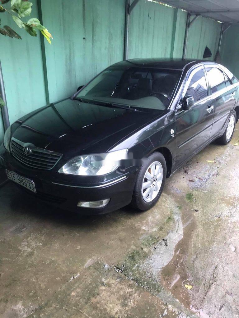 Cần bán gấp Toyota Camry năm sản xuất 2003, màu đen, nhập khẩu (1)