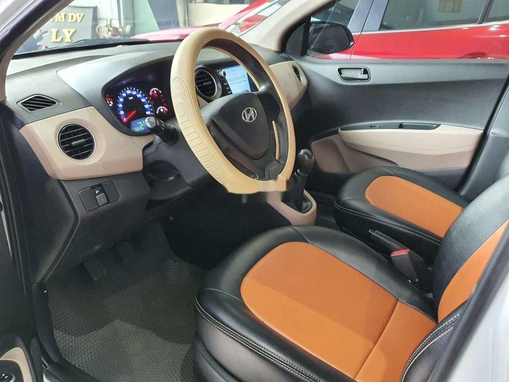Cần bán gấp Hyundai Grand i10 sản xuất 2016, màu trắng, xe nhập còn mới, 275tr (5)