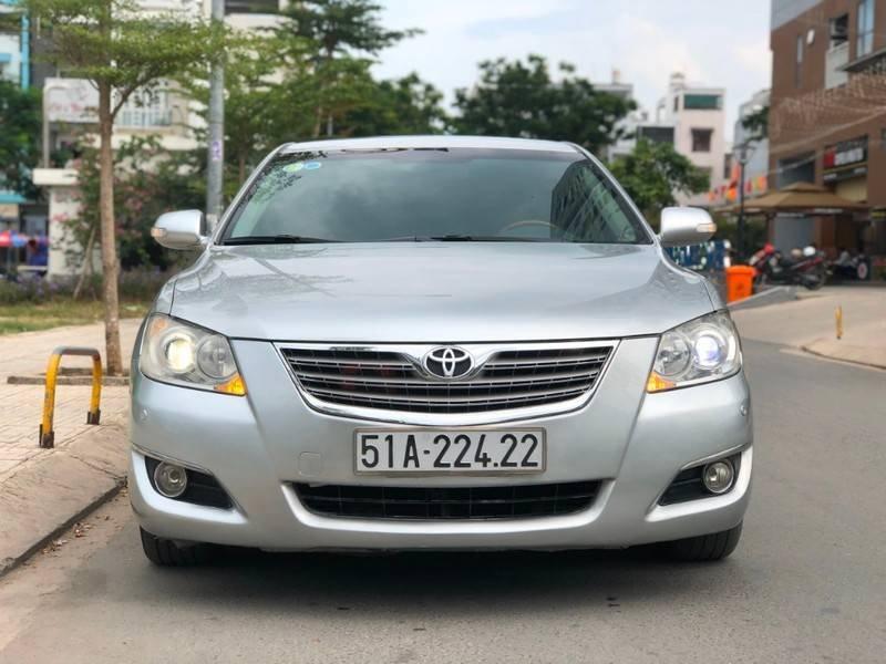 Cần bán Toyota Camry năm sản xuất 2008, màu bạc, nhập khẩu chính chủ, giá 488tr (1)