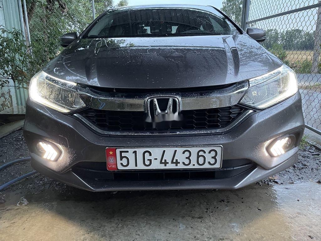Cần bán xe Honda City năm sản xuất 2017, màu xám chính chủ, giá 480tr (1)
