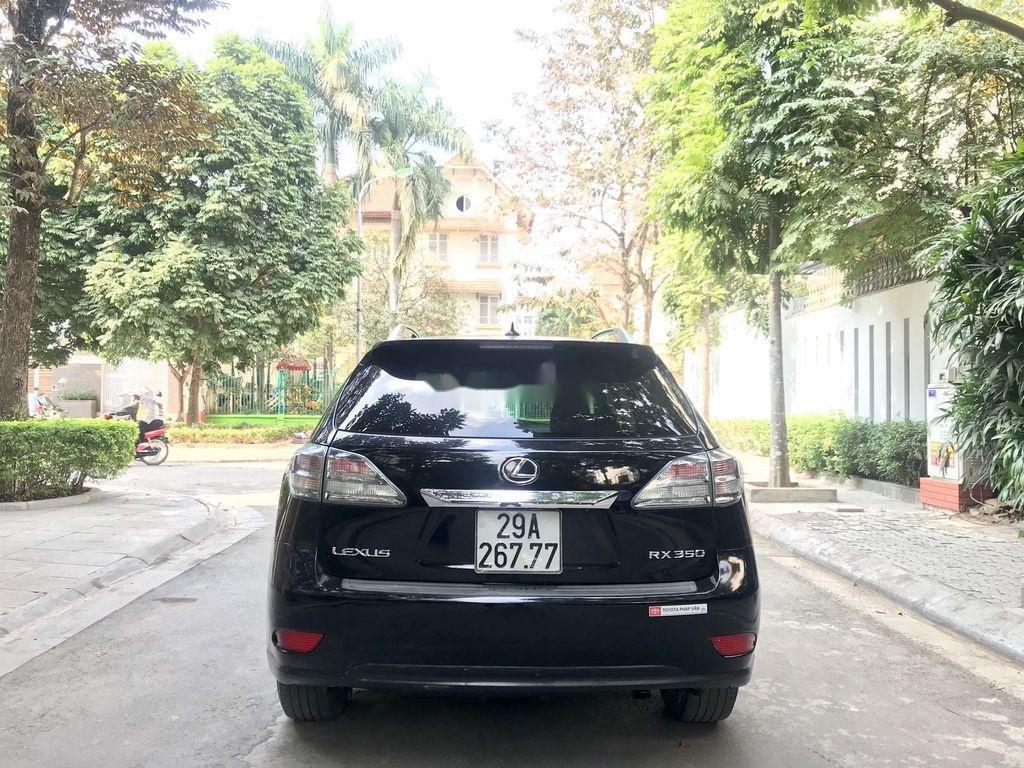 Cần bán Lexus RX 350 sản xuất năm 2009, màu đen, nhập khẩu  (6)