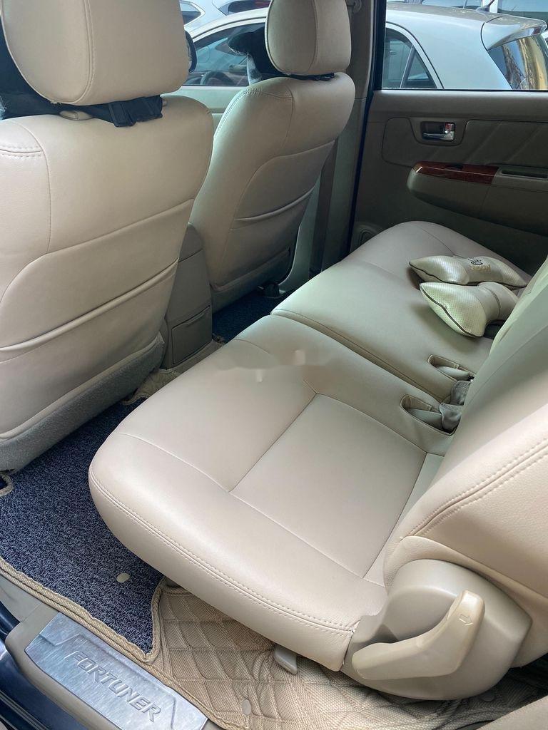 Cần bán lại xe Toyota Fortuner 2.7V năm 2009, màu xám  (6)