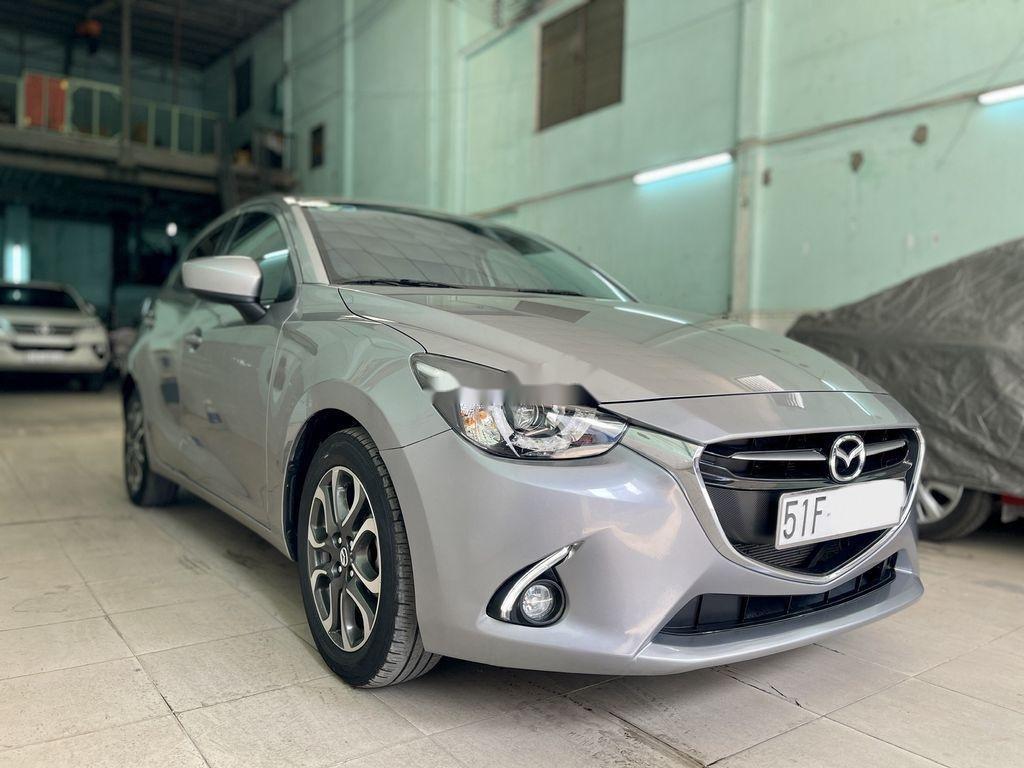 Bán Mazda 2 năm sản xuất 2016, màu xám chính chủ  (2)