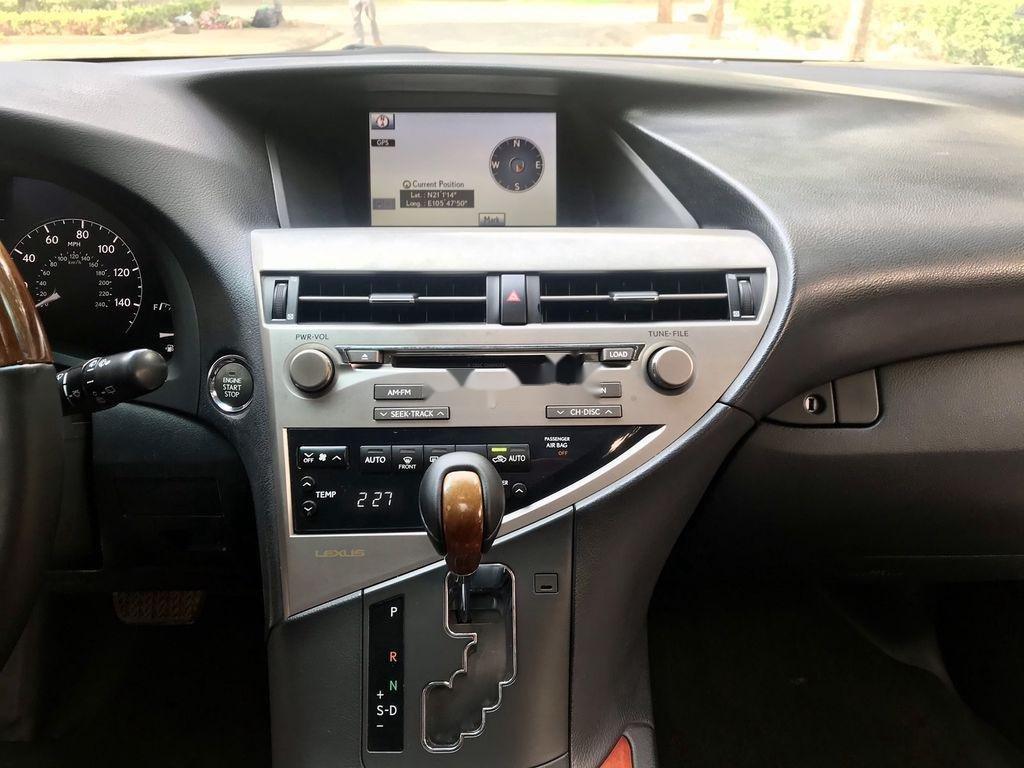 Cần bán Lexus RX 350 sản xuất năm 2009, màu đen, nhập khẩu  (12)