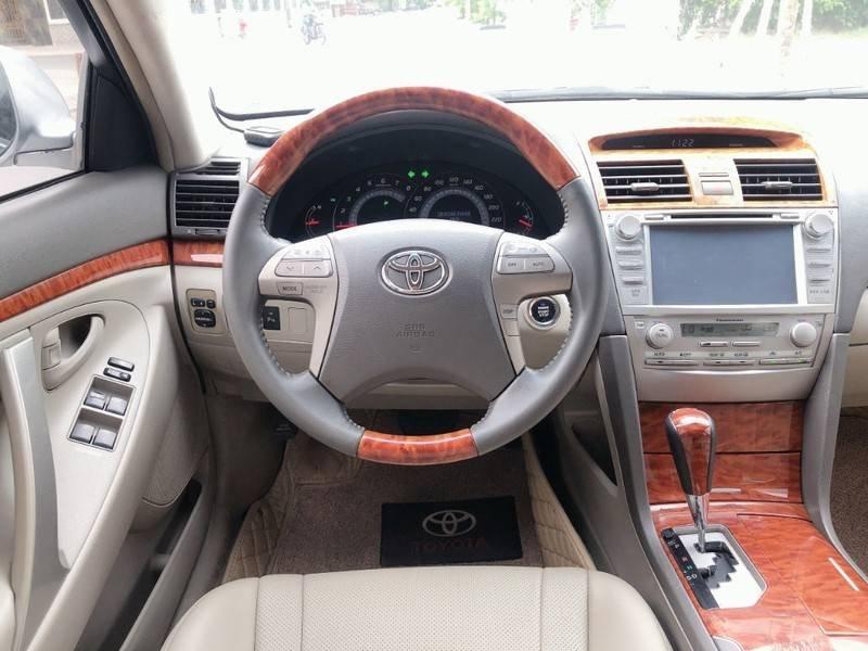 Cần bán Toyota Camry năm sản xuất 2008, màu bạc, nhập khẩu chính chủ, giá 488tr (9)