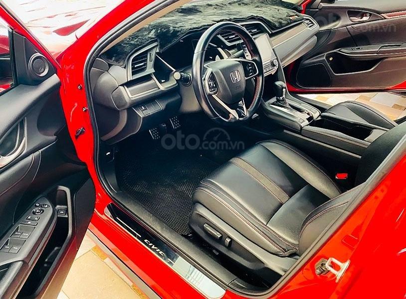 Bán xe Honda Civic RS 1.5 AT sản xuất 2019, màu đỏ, xe nhập  (5)
