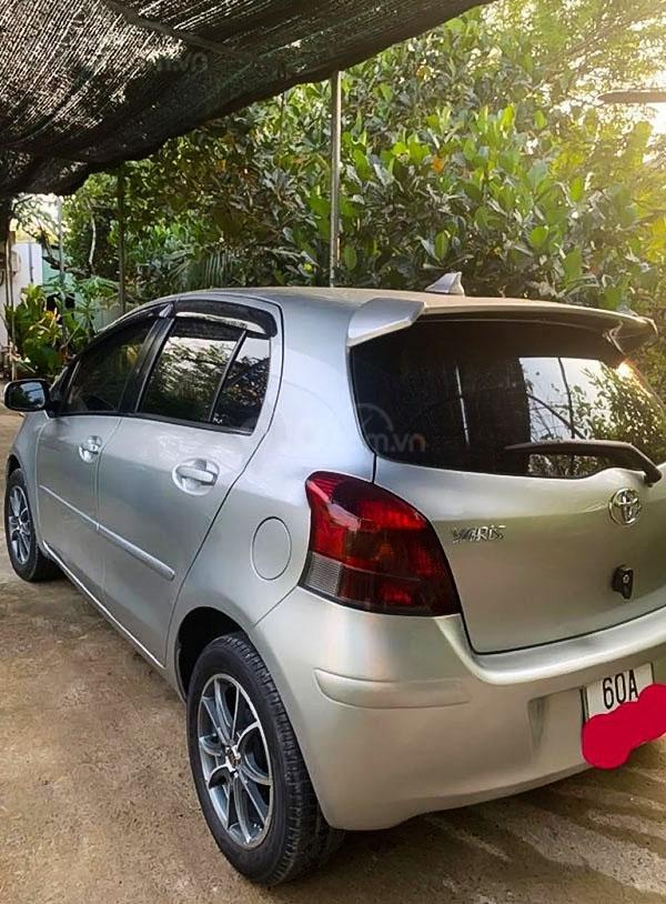 Bán ô tô Toyota Yaris 1.5 AT năm sản xuất 2011, màu bạc, nhập khẩu (4)
