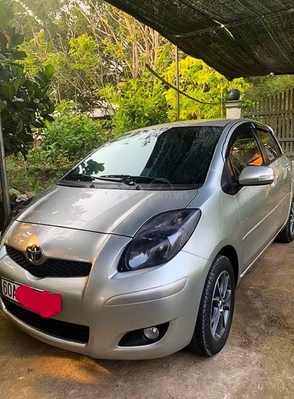 Bán ô tô Toyota Yaris 1.5 AT năm sản xuất 2011, màu bạc, nhập khẩu (1)