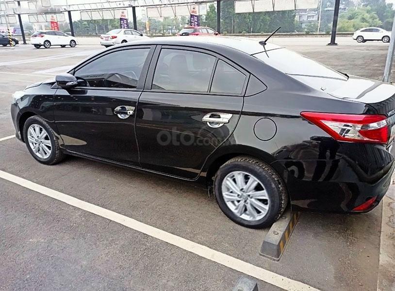 Bán Toyota Vios G đời 2018, màu đen chính chủ (2)