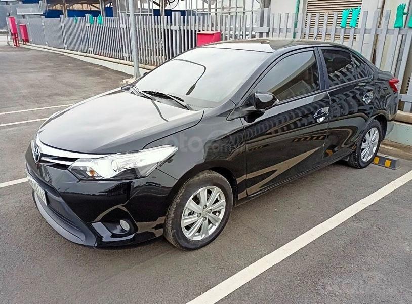 Bán Toyota Vios G đời 2018, màu đen chính chủ (1)