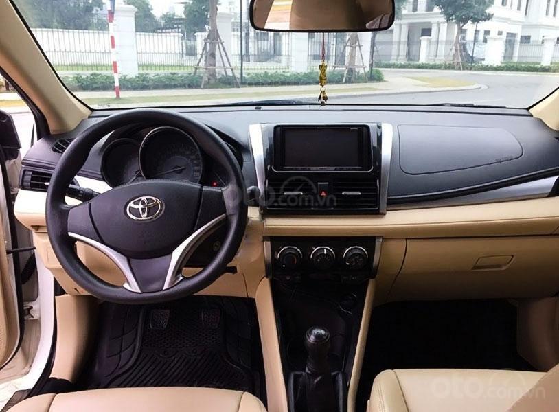Bán Toyota Vios E đời 2017, màu trắng chính chủ (2)