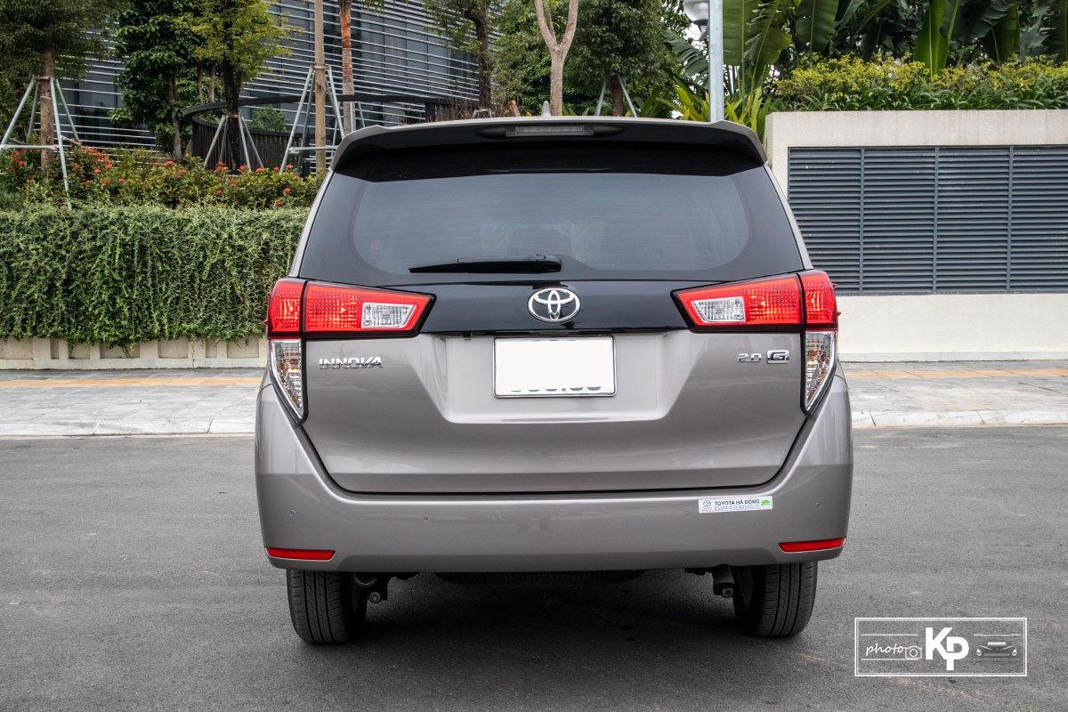 Ảnh Đuôi xe Toyota Innova 2.0G 2021