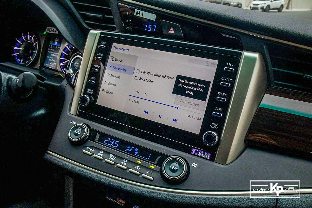 Ảnh Màn hình xe Toyota Innova 2.0G 2021