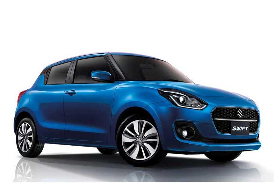 Thiết kế thân xe Suzuki Swift 2021 1