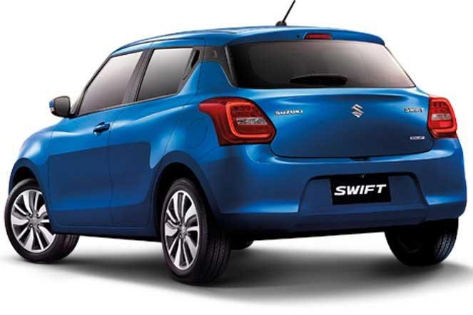 Thiết kế đuôi xe Suzuki Swift 2021 1