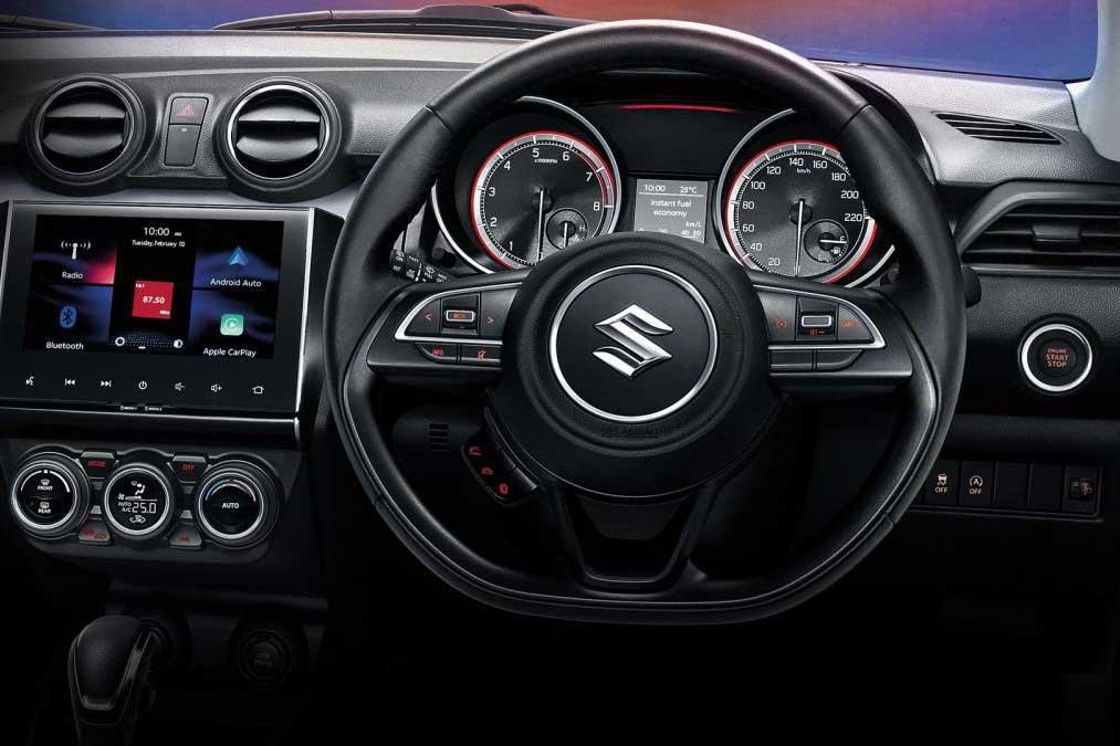 Vô lăng xe Suzuki Swift 2021 1