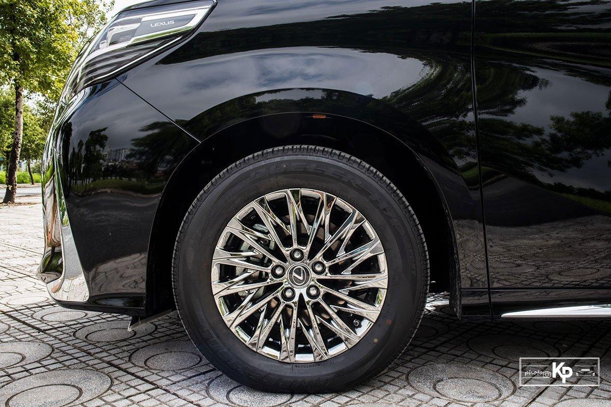 Ảnh La-zăng xe Lexus LM 2021