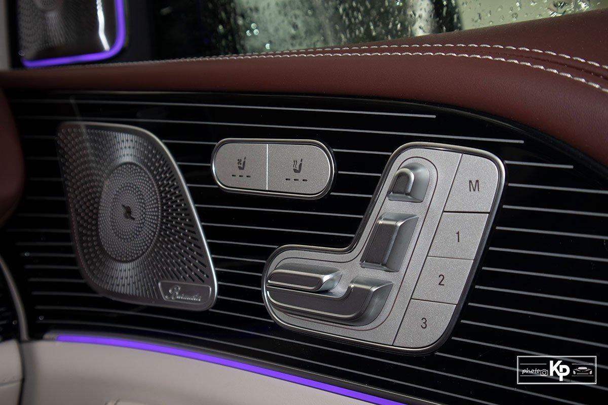 Ảnh Chỉnh ghế xe Mercedes-Maybach GLS 600 2021