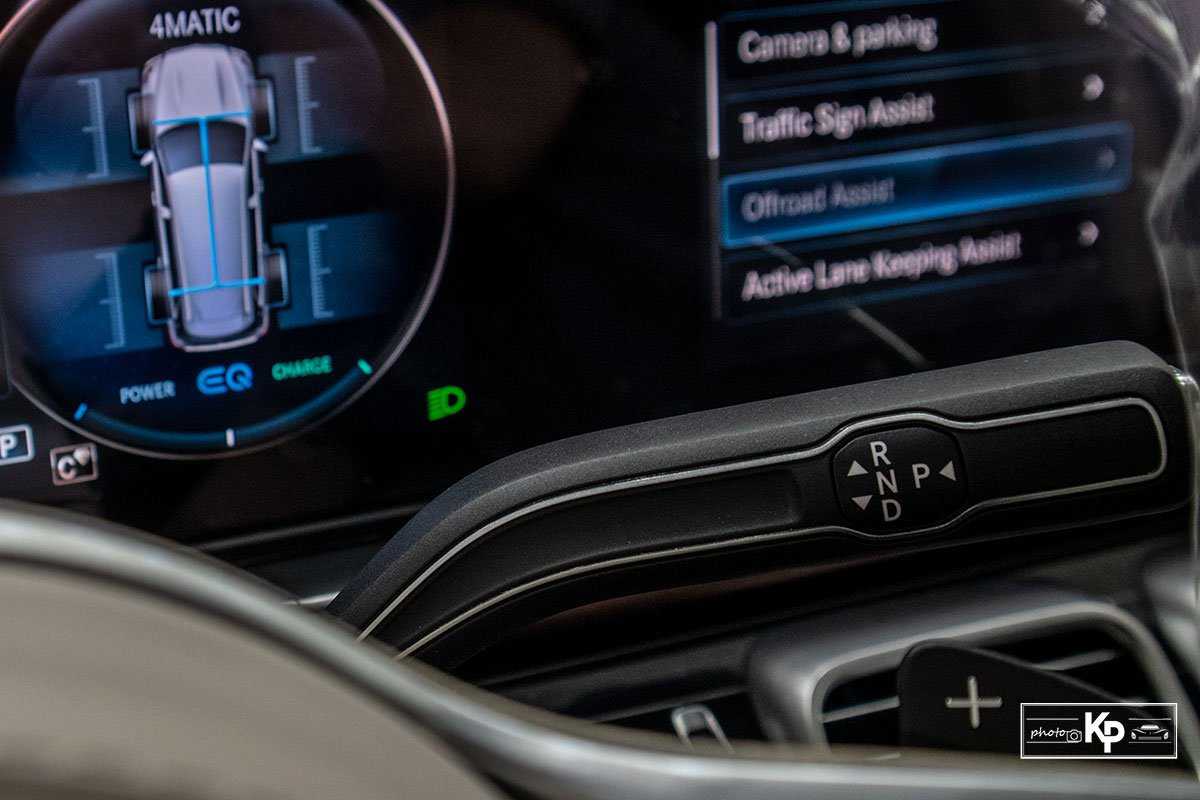 Ảnh Cần số xe Mercedes-Maybach GLS 600 2021