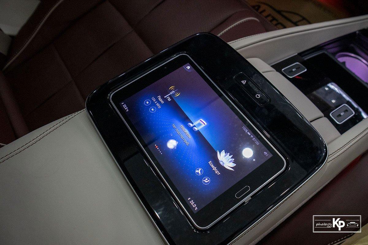 Ảnh Máy tính bảng xe Mercedes-Maybach GLS 600 2021