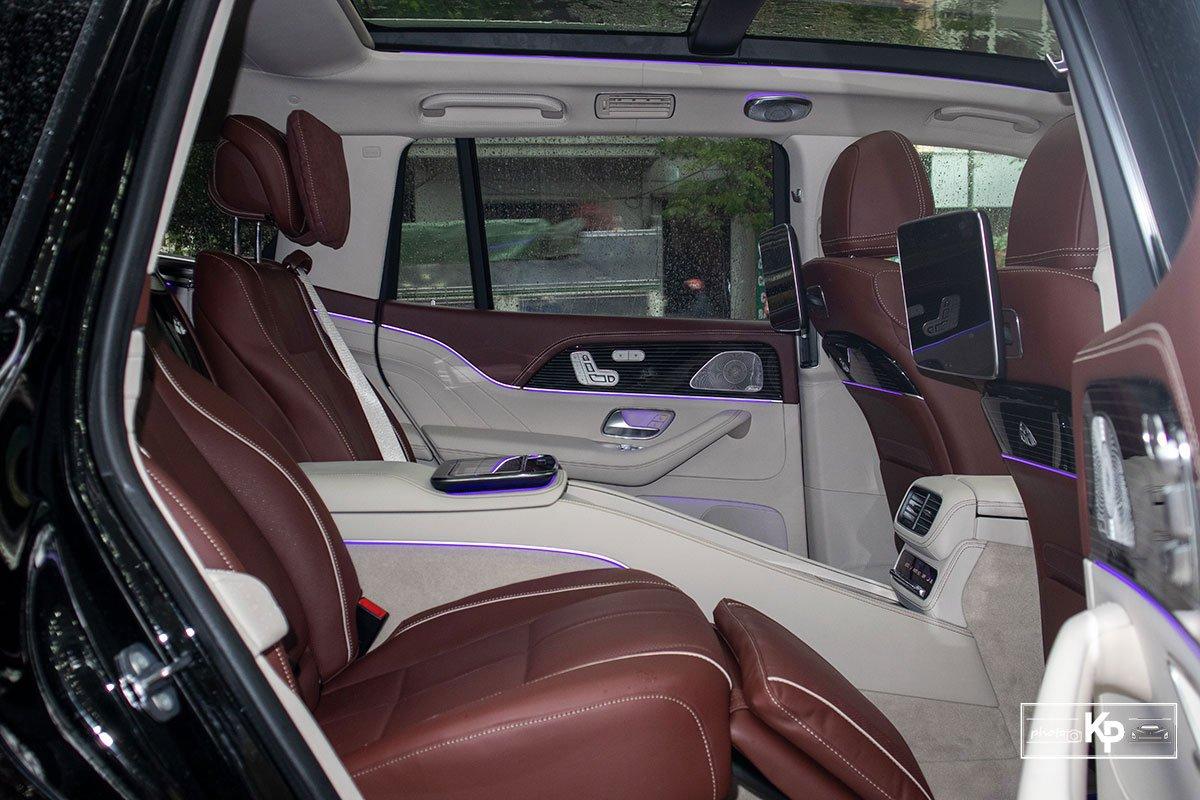Ảnh Ghế sau xe Mercedes-Maybach GLS 600 2021