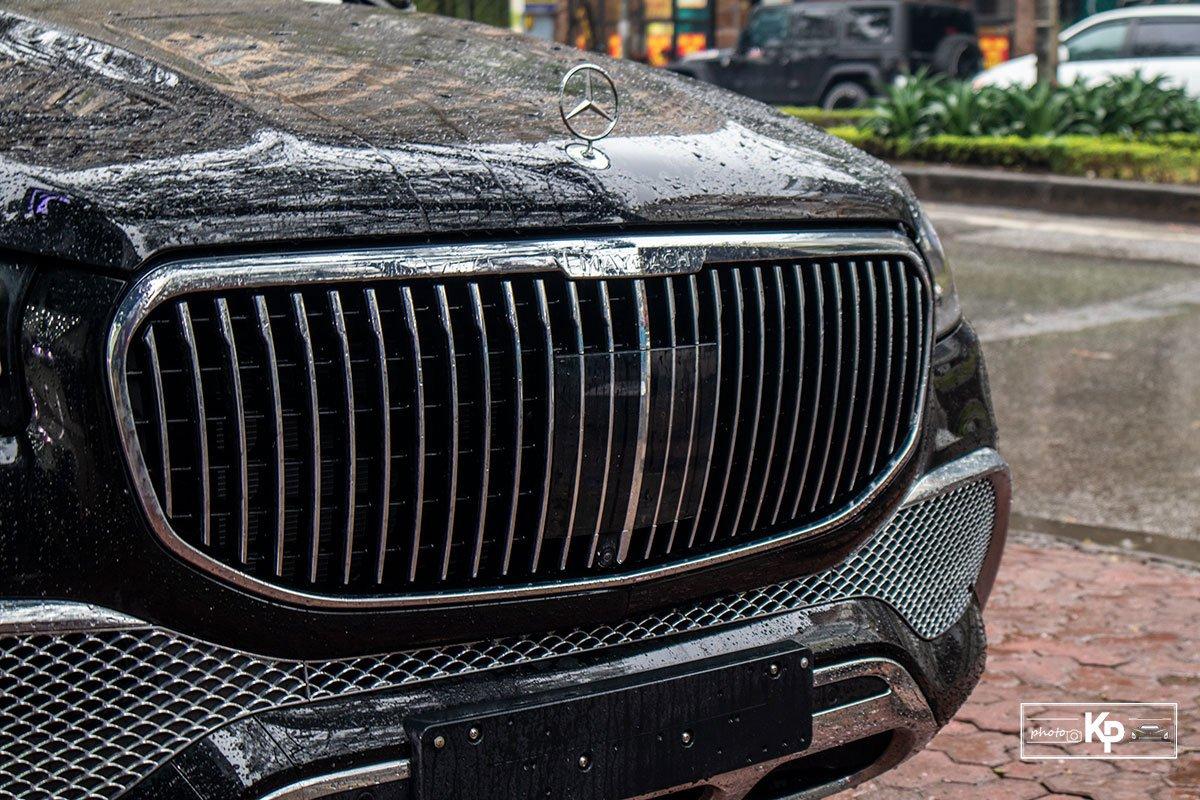 Ảnh Lưới tản nhiệt xe Mercedes-Maybach GLS 600 2021