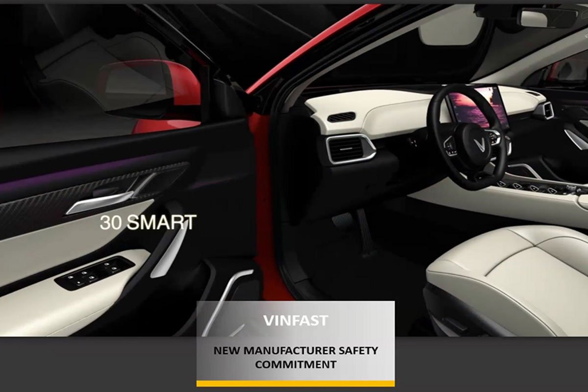 Vinfast đạt giải New Manufacturer Safety Commitment a2