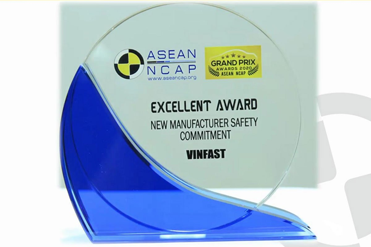 VinFast đạt giải New Manufacturer Safety Commitment a1