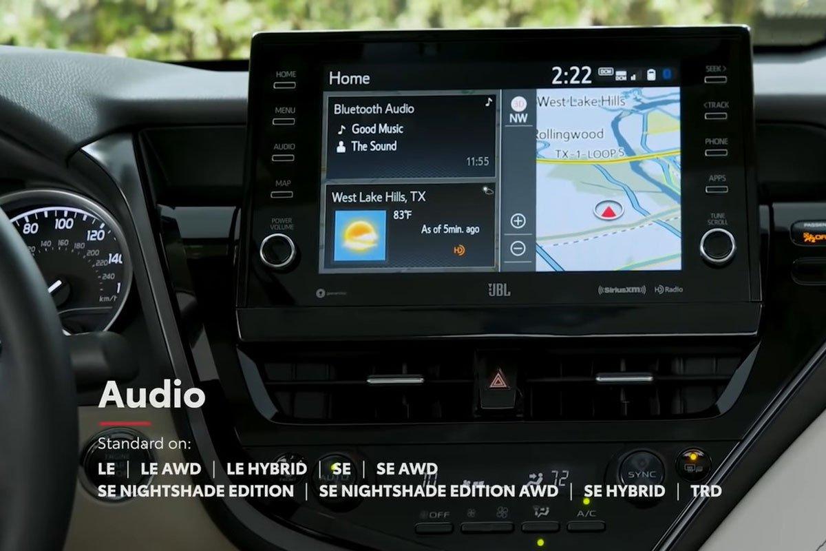 Ảnh Màn hình xe Toyota Camry 2021