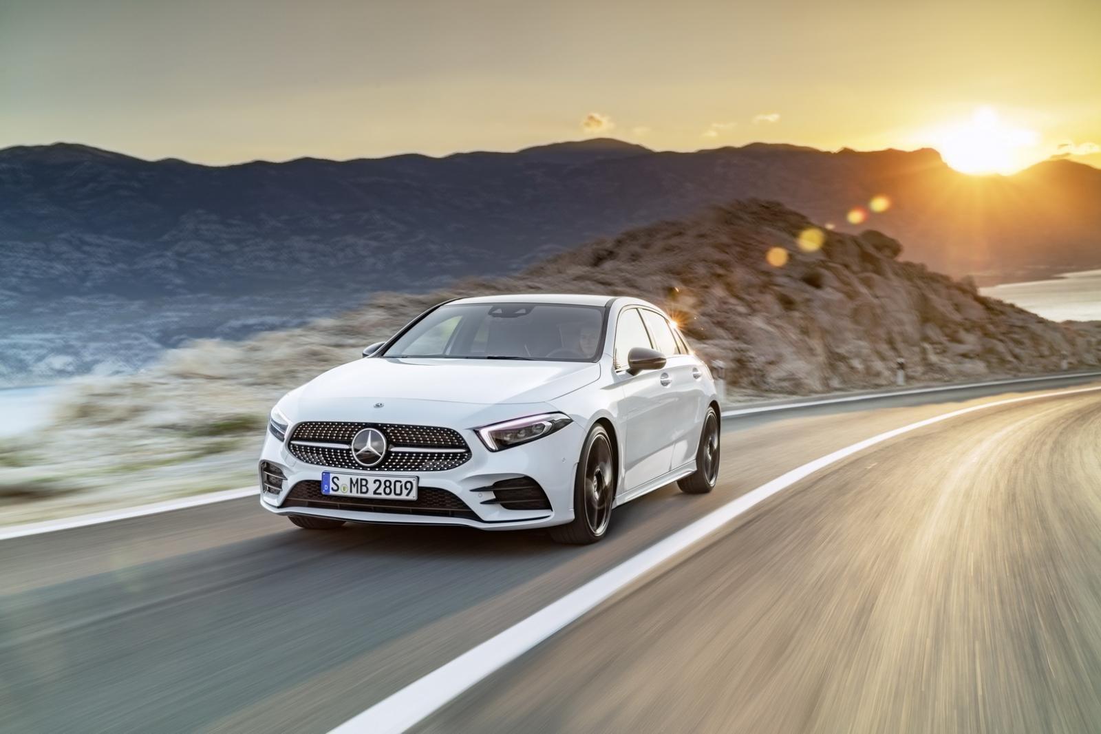 Mercedes A City dự kiến sở hữu mức giá thân thiện hơn cả A-Class.