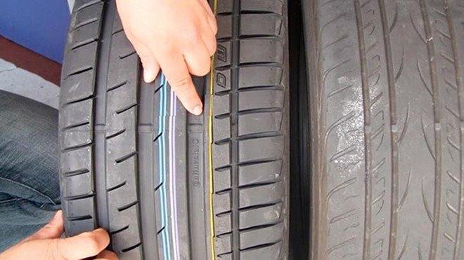 Dấu hiệu nên thay lốp mới.