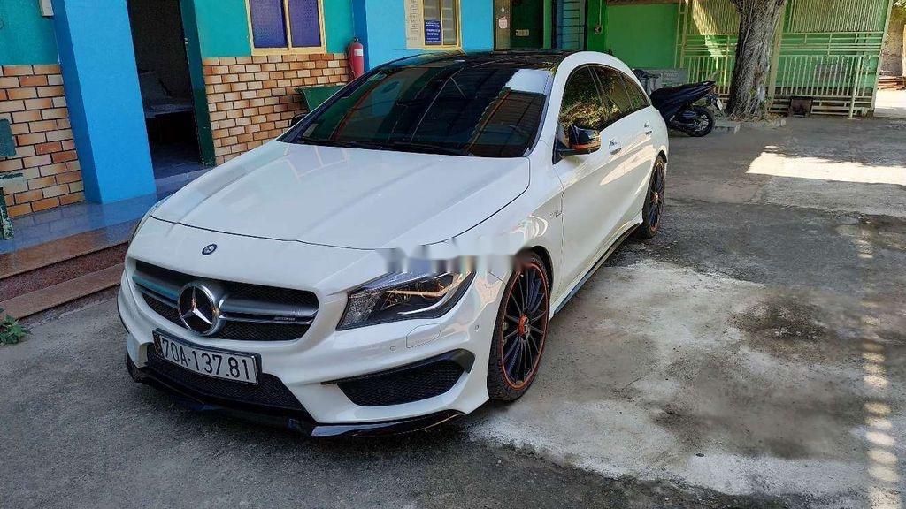 Cần bán xe Mercedes CLA 45 AMG đời 2015, màu trắng (4)