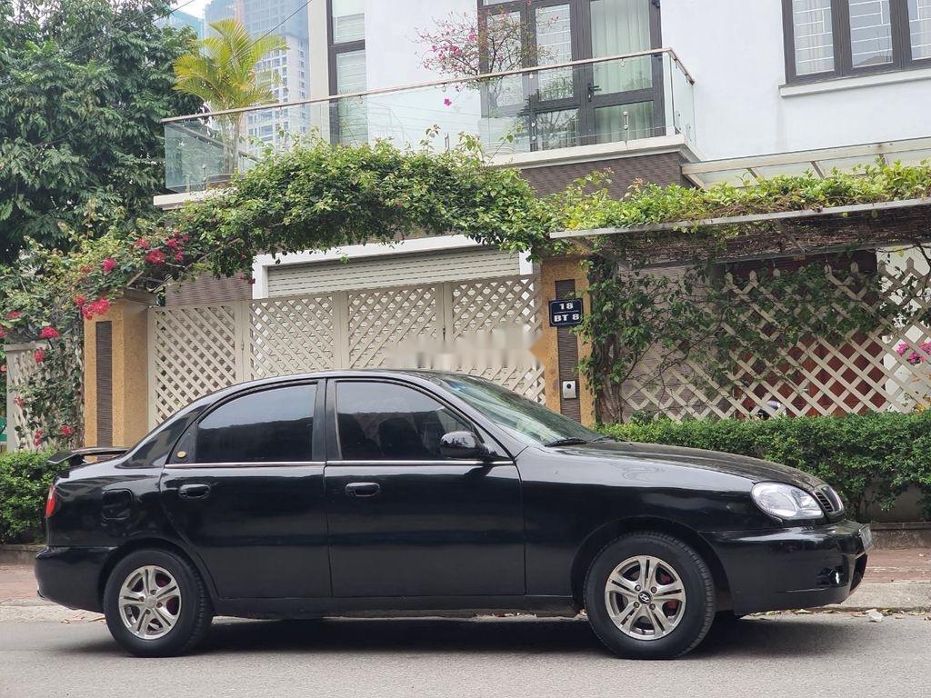 Bán Daewoo Lanos năm sản xuất 2003, màu đen, xe nhập  (1)