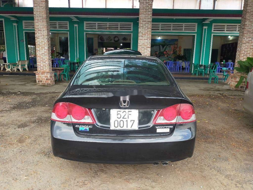 Bán xe Honda Civic 2008, màu đen, nhập khẩu  (1)