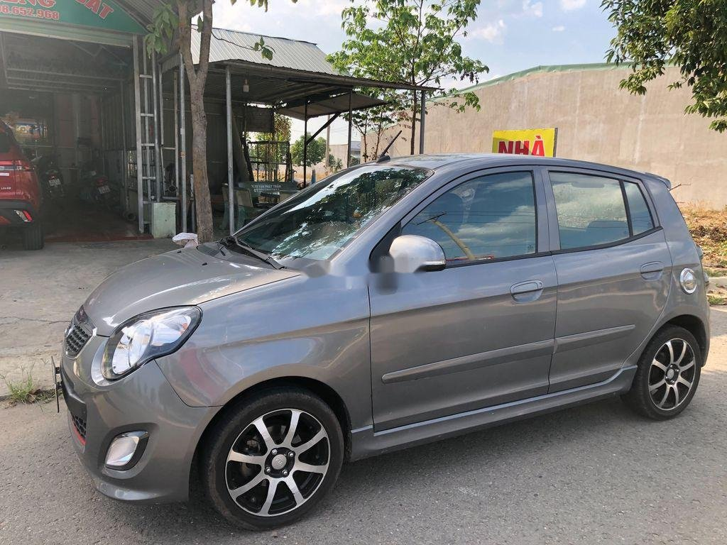 Bán ô tô Kia Morning đời 2011, màu xám còn mới (3)